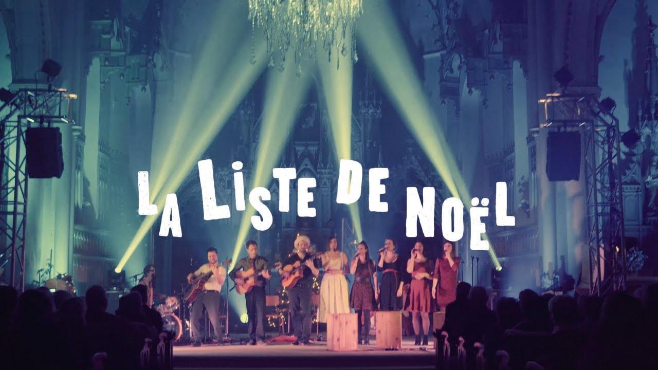 Damoizeaux – La liste de Noël, le spectacle