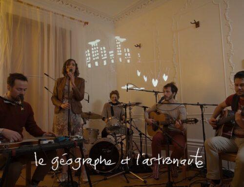 Damoizeaux – Le géographe et l'astronaute (live session)