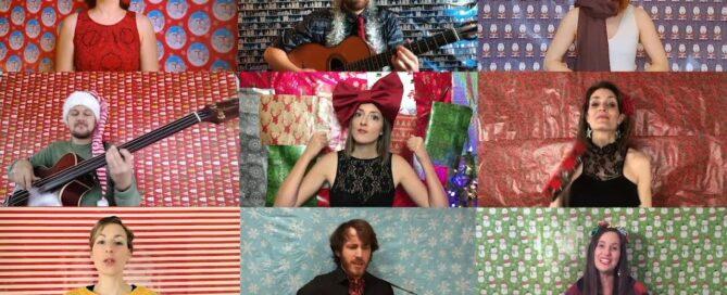 Damoizeaux & VOXA4 - Medley de Noël à la Pérusse (reprise)